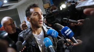 Le footballeur Zahir Belounis de retour en France