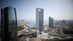 منظر عام لأبوظبي، الإمارات العربية المتحدة، 29 مايو/أيار 2019.