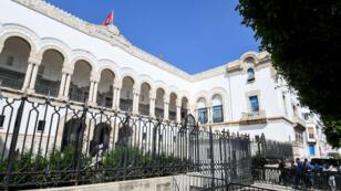 مبنى محكمة تونس 26 أيار/مايو2017.