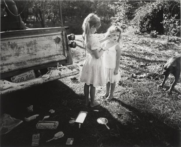Sally Mann (1989)  Sayra and Neil Meyerhoff.
