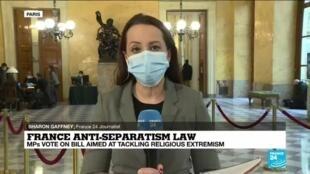 2021-02-16 16:04 France anti-separatism law: Critics say bill discriminates against Muslim community