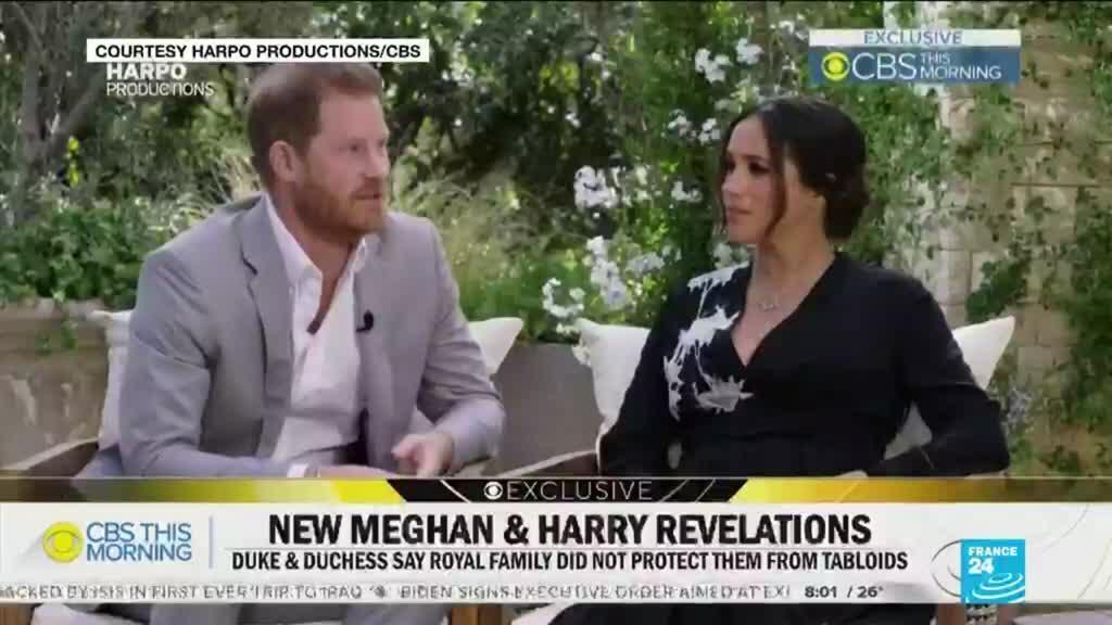 2021-03-09 08:23 Explosive Harry, Meghan interview reverberates across globe