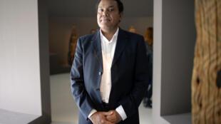 French first: Kanak curator Emmanuel Kasarherou is to head the Quai Branly museum in Paris