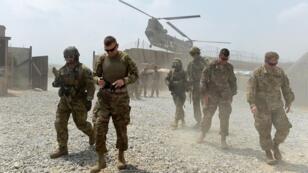 Des soldats américains dans la province de province of Nangarhar en Afghanistan, en août 2015.