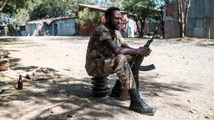 There is no known link between the violence and military operations in Ethiopia's northernmost Tigray region.