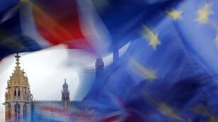 Le Parlement a voté contre l'accord sur le Brexit négocié par Theresa May avec Bruxelles