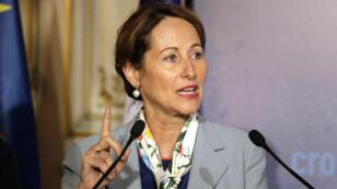 La ministre  française de l'Écologie Ségolène Royal.