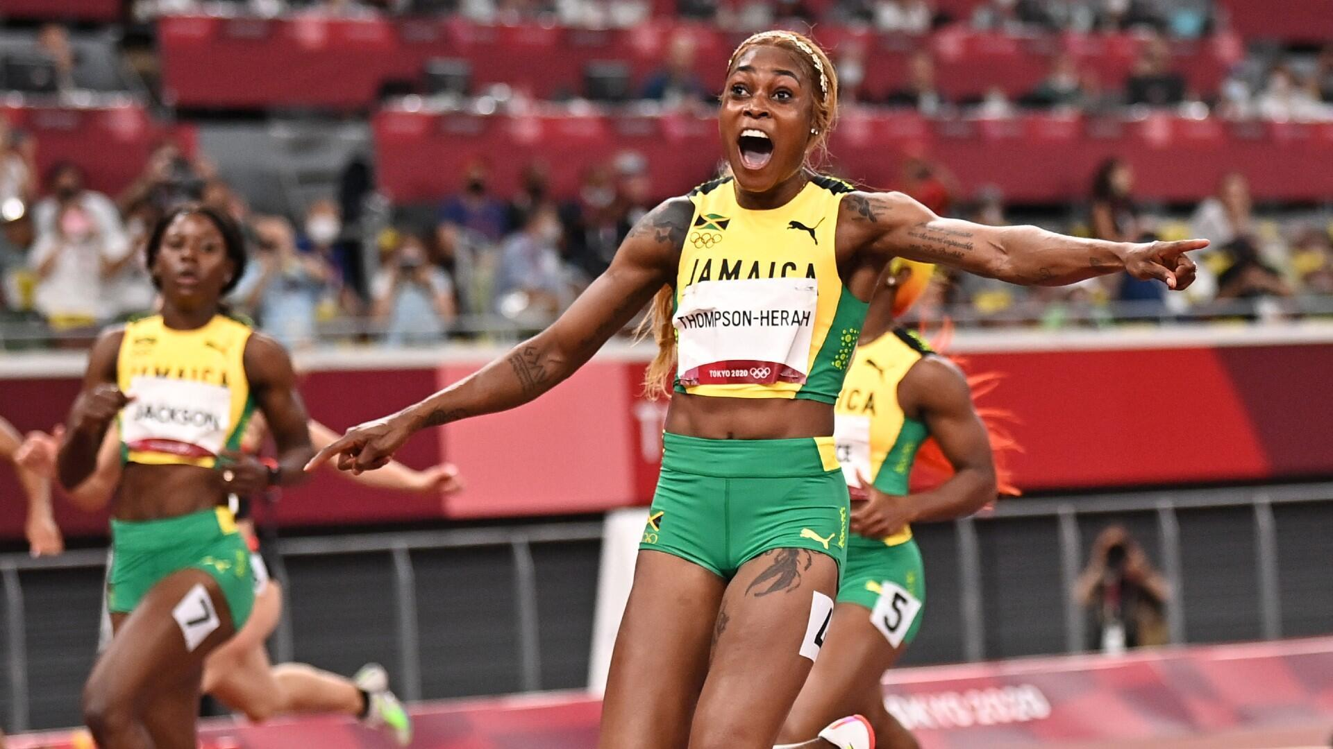 Jamaique JO Tokyo Shelly Ann Fraser-Pryce 100m