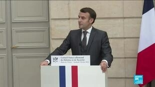 2021-02-05 17:01 Navalny case: France's Macron 'strongly condemns' Russia expelling Germany, Sweden, Poland diplomats