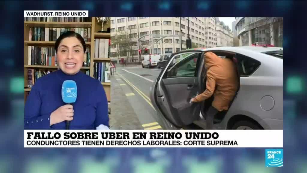 2021-02-19 13:33 Informe desde Londres: Corte Suprema determina que conductores de Uber tienen derechos laborales