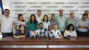 Alianza opositora se retira de mesa de negociación con obierno de Nicaragua. 20 de mayo de 2019.