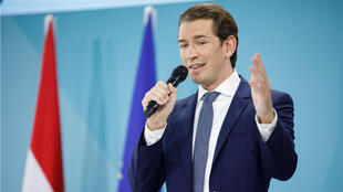 File photo of Austrian Conservative Party leader Sebastian Kurz