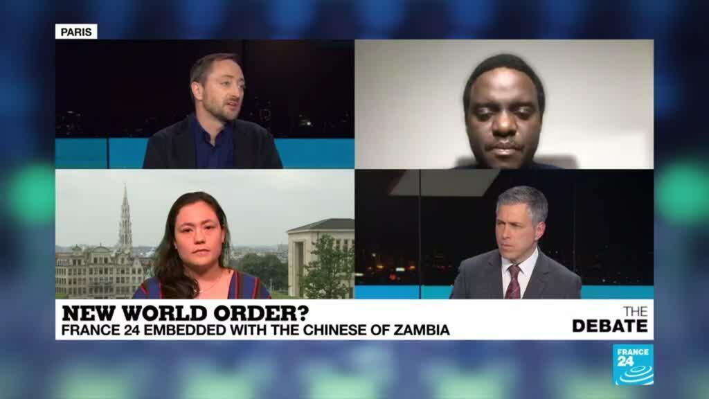 2021-03-29 19:10 New world order? France 24 embedded with the Chinese in Zambia
