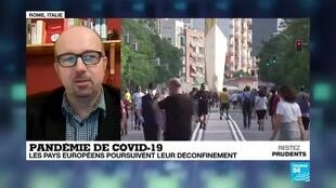 2020-06-01 14:13 Pandémie de Covid-19 : le déconfinement se poursuit en Europe