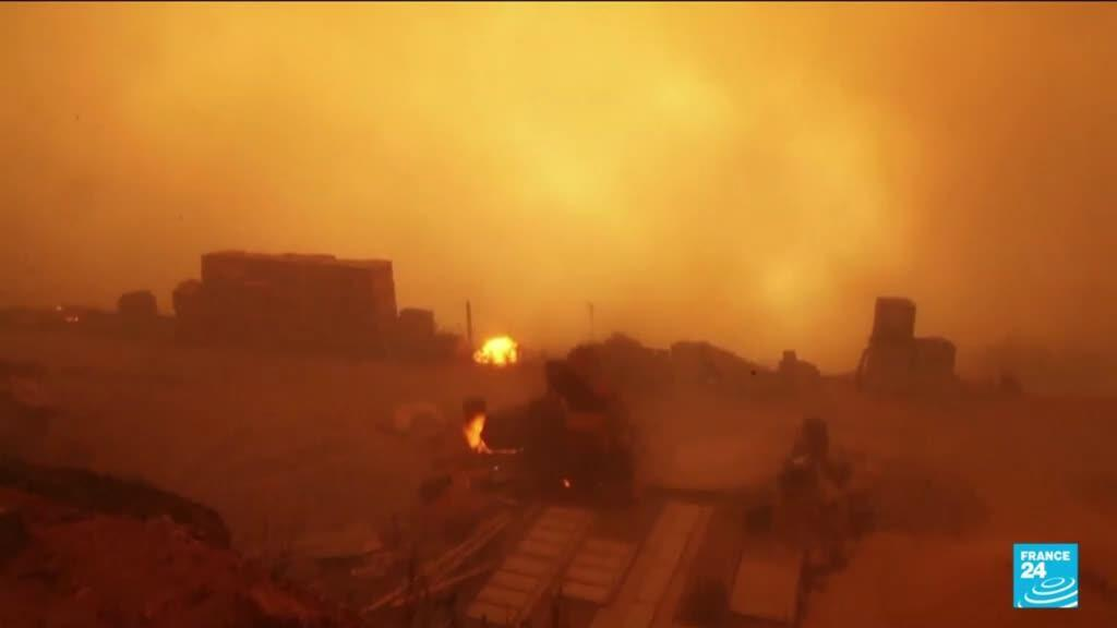 2021-08-12 06:06 Deadly wildfires rage across the Kabylie region in Algeria