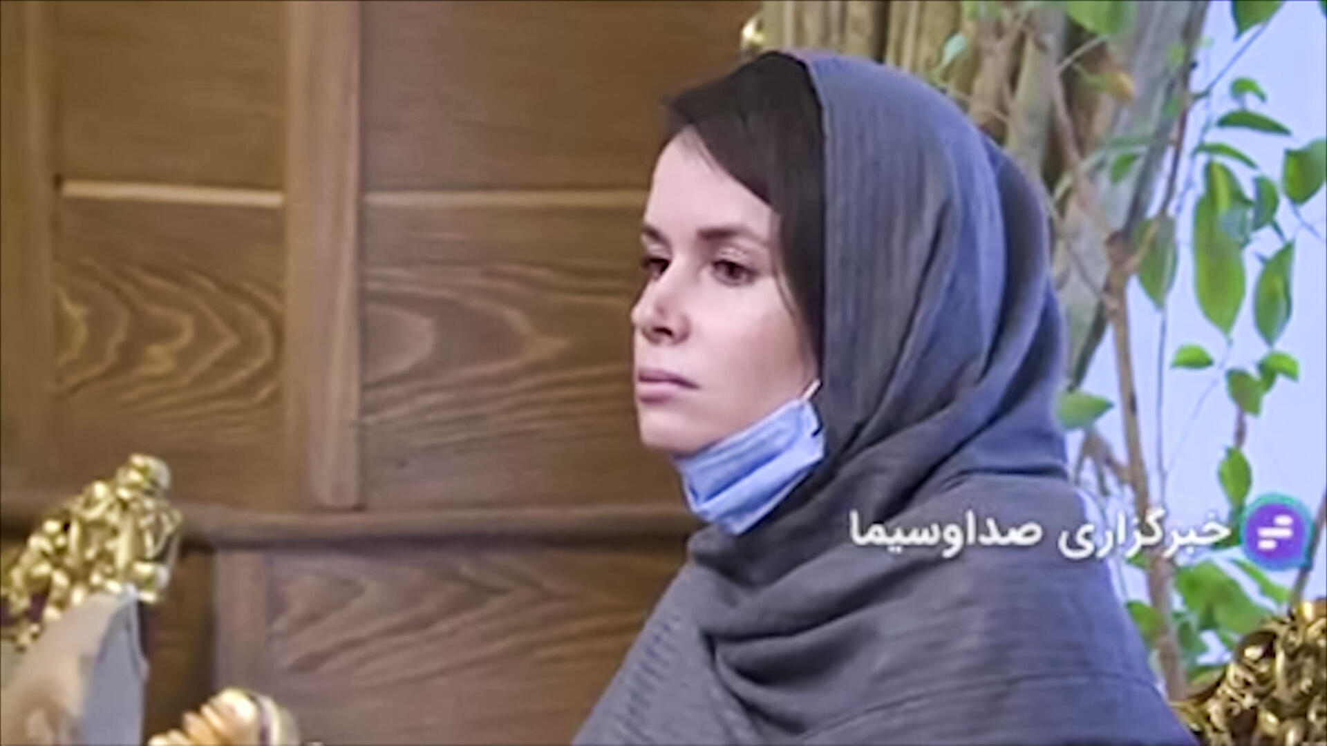 An image grab from footage obtained from Iranian state television on November 25, 2020 shows Australian-British academic Kylie Moore-Gilbert, who was serving a 10-year prison sentence for spying, during her release in Iran
