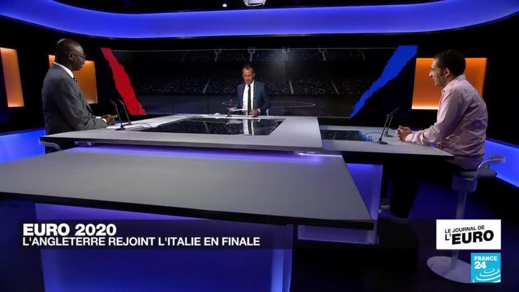 2021-07-07 23:44 Euro-2021 : l'Angleterre rejoint l'Italie en finale