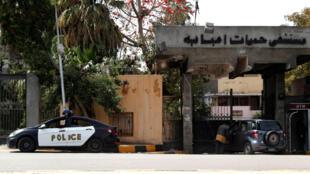 HEALTH-CORONAVIRUS-EGYPT-POLICE