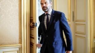 Le Premier ministre Edouard Philippe, le 18 juillet 2019 à l'Hôtel Matignon, à Paris.