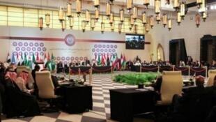 اجتماع لوزراء الخارجية العرب في منطقة البحر الميت في 27 آذار/مارس 2017