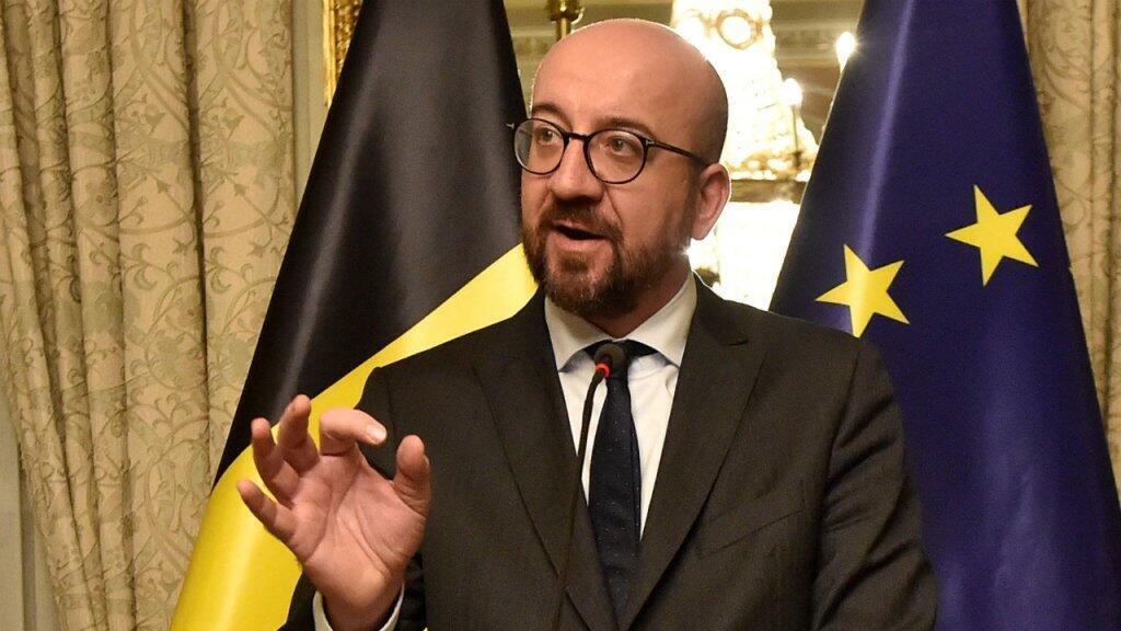 صورة أرشيف لرئيس الوزراء البلجيكي شارل ميشيل