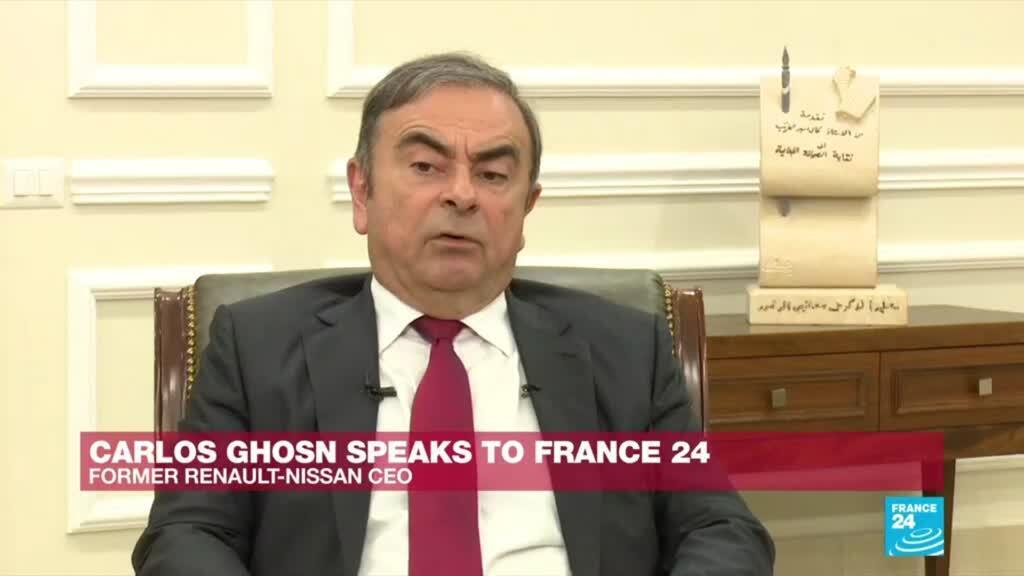 """2020-01-09 20:14 """"I was scared to stay in Japan"""", says Carlos Ghosn on France 24"""