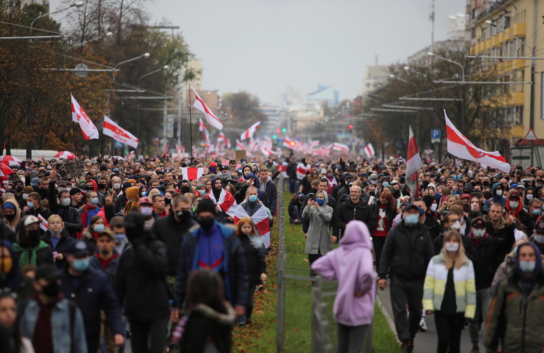 Biélorussie-manifestation