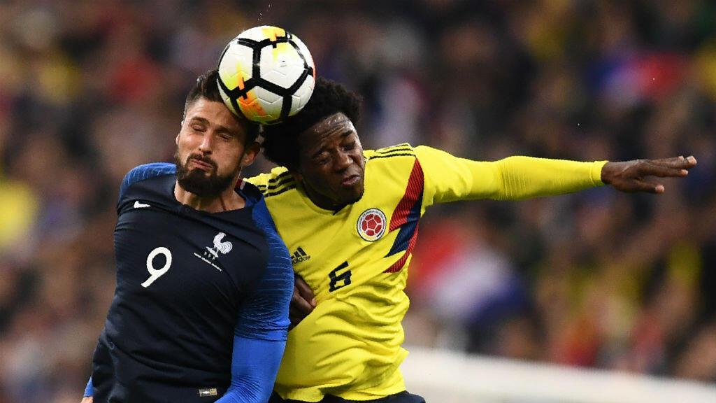 Au Stade de France, les Bleus ont été battus par la Colombie (2-3).