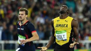 Usain Bolt, plus que jamais entré dans la légende du sprint.