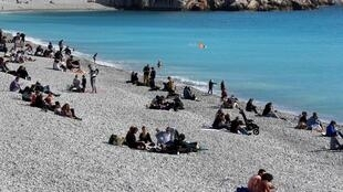 The coastal area affected by the lockdown includes Nice and other famous resorts including Cannes and Antibes