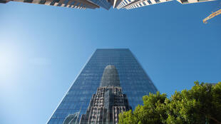 The Salesforce Tower in San Francisco is the headquarters of the US cloud computing giant, which is allowing most employees to work from anywhere under a new flexible workplace policy