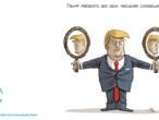 L'actu en dessin : Donald Trump seul sans son Bolton