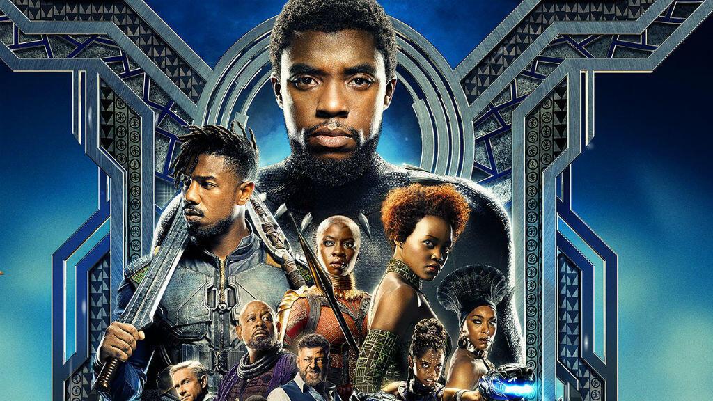 """L'affiche de """"Black Panther""""."""
