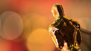 La statuette des Oscars, photographiée lors de la 89ecérémonie, le 26 février 2017.