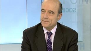 رئيس بلدية بوردو والمرشح للانتخابات الرئاسية الفرنسية ألان جوبيه