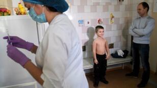 تسجيل 53 ألف حالة حصبة في أوكرانيا