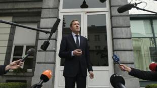 Le ministre-président de Wallonie, Philippe Magnette, le 27 octobre 2016, à Bruxelles.
