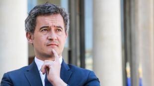 Le ministre des Comptes publics Gérald Darmanin, à Paris le Paris, le 24 avril 2020