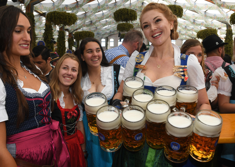 No beer here -- Bavaria's legendary Oktoberfest is off this year due to coronavirus