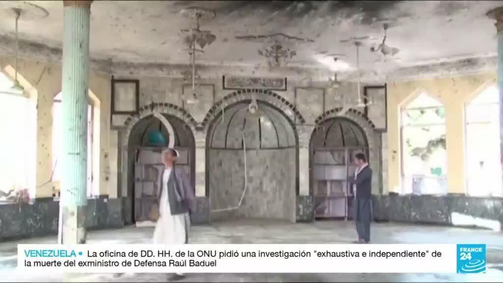 2021-10-15 17:01 El templo más grande de la minoría chií en Kandahar, fue impactado por una explosión
