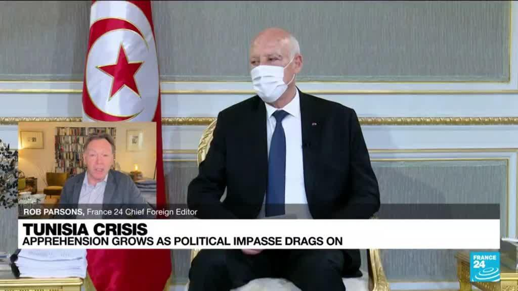 2021-08-05 08:09 Tunisia: apprehension grows as political impasse drags on