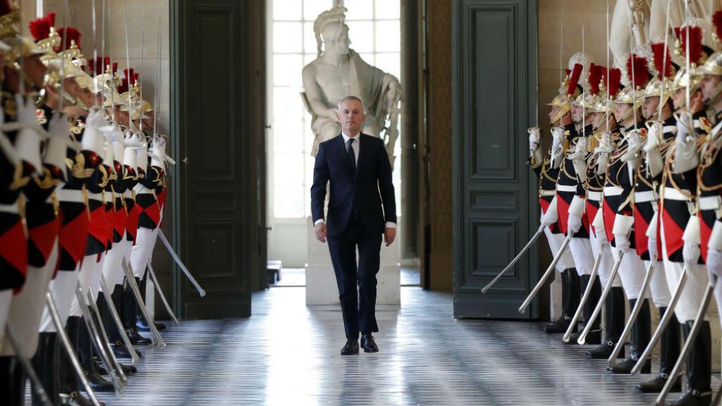 François de Rugy, le 9 juillet 2018, à l'Assemblée nationale.