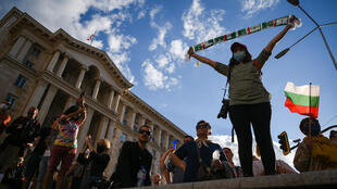 Demonstrators in Bulgaria have protested for eight straight days