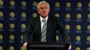 Outgoing Football Federation Australia chairman Steven Lowy opposed FIFA reforms, saying the move could hand the A-League's foreign owners too much power