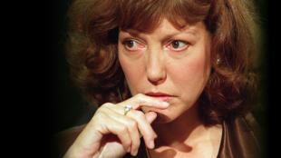 """Révélée en 1966 par le film """"Au Hasard Balthazar"""" de Robert Bresson, Anne Wiazemsky a joué dans plusieurs films de Jean-Luc Godard."""