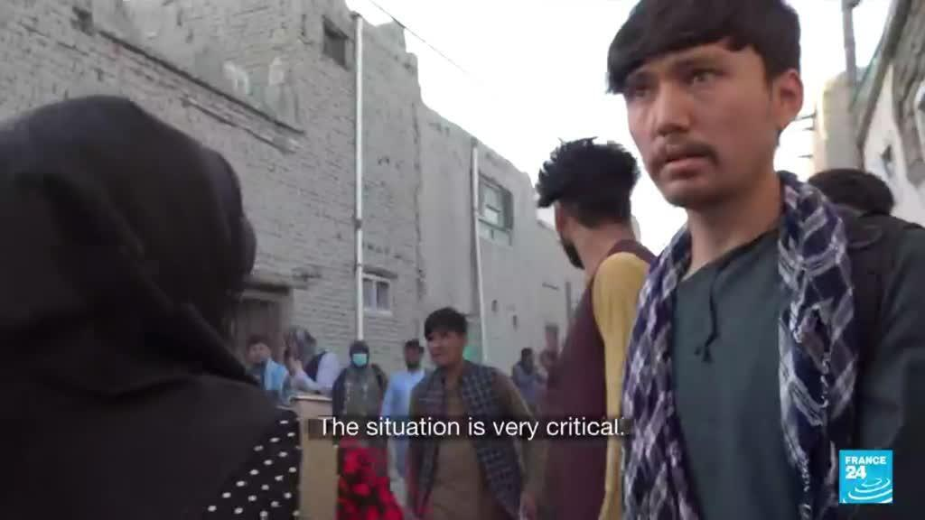 2021-08-26 18:14 'A lot of panic going around' Catherine Norris-Trent reports from Kabul