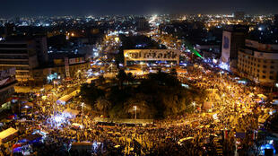 مظاهرة في ميدان التحرير في 5 تشرين الثاني - نوفمبر 2019
