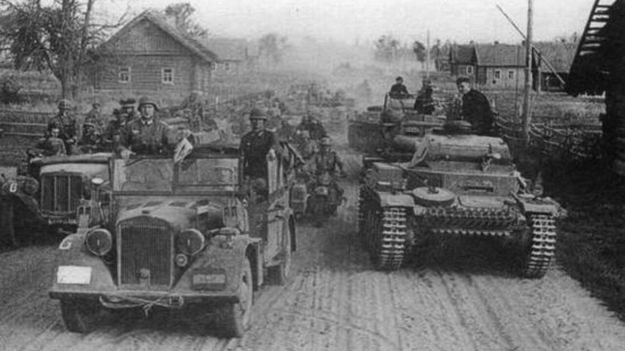 Wehrmacht_Panzergruppe_3_пад_Пружанай_1941