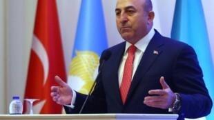 وزير الخارجية التركي مولود جاوش أوغلو