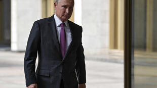 Vladimir Poutine, à Moscou, le 9 septembre 2018